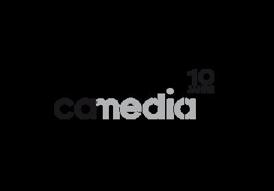 Online-Präsenz der Schweizer Firma CA-Media