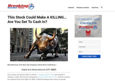 Ενημερωτικό άρθρο στο Blog - Portal Breaking Investor News