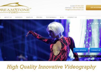Αρχική σελίδα του Dreamstone Video