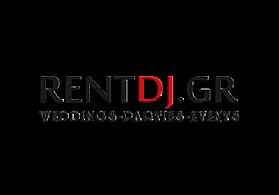 Διαδικτυακός χώρος της εταιρείας οργάνωσης εκδηλώσεων Rentdj