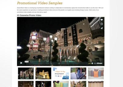Σελίδα με Βίντεο της εταιρείας