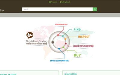 B2B πλατφόρμα Tradenuts για εμπόριο ξηρών καρπών